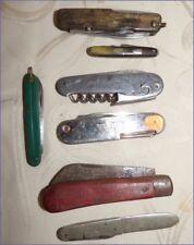 Lot Anciens Canifs Couteaux de Poches dont certains avec Pub Old Antic Knifes