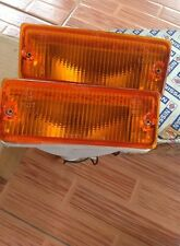 Nissan sunny b11 sentra Front Turn Signal Lights LAMPS RH & LH NOS JAPAN.