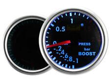 Motor Meter SMOKE LED Blau Zusatzanzeige Zusatzinstrument Ladedruck Turbo Boost