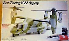 Vintage 1989 Testors Bell/Boeing V-22 Osprey Tilt Rotor Aircraft Scale 1/48 #503