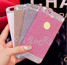 Cover Case Bling Glitter BRILLANTINI Diamonds Slim PER IPHONE 4-4S 5 5S 6 7 plus