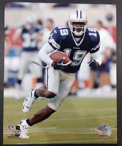 KEYSHAWN JOHNSON 2005 Dallas Cowboys 8x10 ACTION PHOTO Blue Jersey