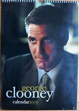 George Clooney Kalender 2005 Spiralbindung 30 x 42 cm 12 Poster zum Rautrennen