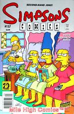 SIMPSONS COMICS (BONGO) (1993 Series) #157 NEWSSTAND Very Fine Comics Book