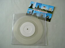 """MUMM-RA What Would Steve Do? debut 7"""" clear vinyl single with signed postcard"""