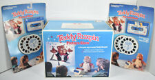 Vintage 1989 TEDDY RUXPIN PICTURE SHOW w/ 2 CASSETTES AND REELS Projector NEW