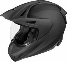 Icon Variant Pro Rubatone Dual Sport Helmet Black