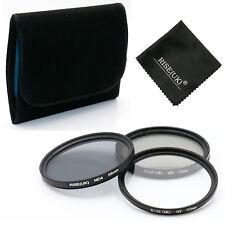 58mm UV CPL Polarizing ND4 Neutral Density Fiter Kit for Digital DSLR Camera