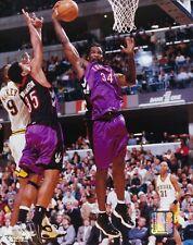 CHARLES OAKLEY 8X10 PHOTO TORONTO RAPTORS BASKETBALL NBA