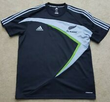 New Zealand All Blacks National Rugby Team World Cup Adidas Jersey Size 2XL