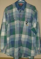 vintage Disney Mickey Mouse Flannel Button Up Shirt  - XXL