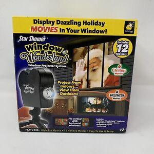 Star Shower Window Wonderland Window Projector 6 Christmas 6 Halloween Movies