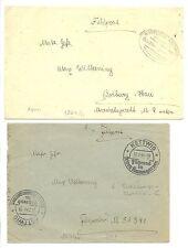GERMANY- 1944  2 x   MARINE FELDPOST   F/VF