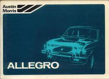 Austin Allegro Series 3 1100 1300 1500 1750 1979-81 Original Owner's Handbook