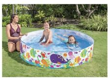 Intex 6ft x 15in Snapset Kids Pool for Ages 3+ Brand New. Ships Free Same Day!