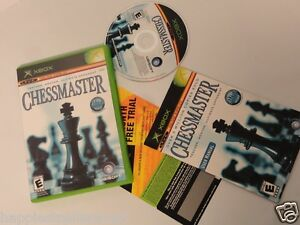 Chessmaster Complete Original XBOX 1 Video Game System DISK FLAWLESS