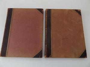 c1870 SONATES pour PIANO de L. van BEETHOVEN 2 Vol. MUSIC SCORES French LITOLFF