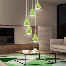 Design Suspendu Luminaire Couvrir Salle à manger Cuisines éclairage vert oblong