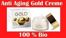 Pure Luxury Gold Cream +Hyaluronic Acid Organic Anti-Ageing Skin Renewal 1.69 oz