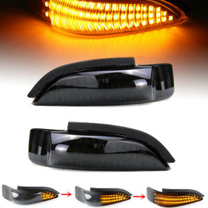Sequential LED Mirror Turn Signal Light Indicator For Camry Corolla 2013-2017