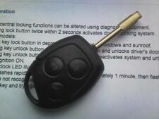 Genuine Ford (2S6T15K601AB) 8071 Tipo RF 3 botón remoto alarma Uncut Clave Fob