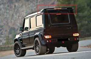 MERCEDES G CLASS W460 W461 W463 SPOILER ROOF POSTERIORE WITH LIGHT NEW G-CLASS