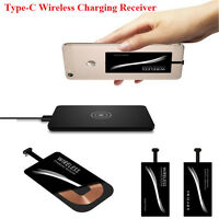 Qi Wireless Type C USB-C Charger Power Charging Receiver For Huawei P9 LG G5/6