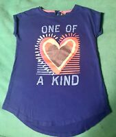 Girl's Short Sleeve OshKosh B'Gosh Short Sleeve Shirt- Size 10- Very Well Made