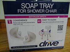Drive Medical Soap Tray for shower chair with folding back-new