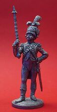 Tin Figurine 54mm HOLLAND DRUM MAJOR Napoleonic War Mini Russian Toy Soldier