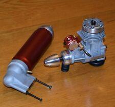 Dub Jett 40 RC High Performance model airplane engine muffler vintage glow .40