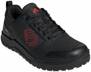 Five Ten Impact Pro Flat Shoes   Core Black / Red / Cloud White   9.5