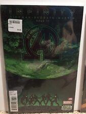 New Avengers #11 Infinity Hickman Deodato Comic Book