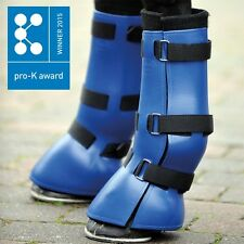 """Kavalkade """"Transwell"""" Travel Boots set of 4 - Blue Size Full (Code 310 03/04)"""