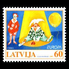 Latvia 2002 - EUROPA Stamps - The Circus - Sc 549 MNH