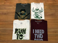 Nike Men's Graphic Logo T-Shirt Crew Athletic Tee Large Pick Color NEW