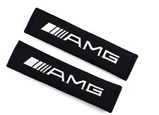 Mercedes AMG Seat Belt Cover Shoulder Car Accessories Pads Cotton Case Padding