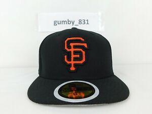 New Era San Francisco Giants Diamond Era 59fifty Fitted Cap Youth Size 6 3/4