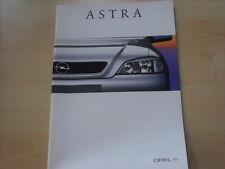 52844) Opel Astra Prospekt 05/1998