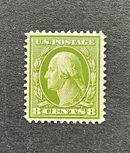 mystamps  US 337, 8 cent Washington MLH, VF, 1908