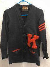 Vtg 40-50's Dehen Vasity Cardigan Wool Sweater Women's?~Small~�K�L etterman