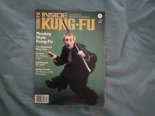 Inside Kung Fu Magazine April 1981 Monkey Style Kung Fu! Rare