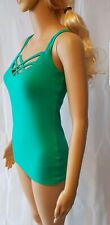 Jane Norman Green Cami Harness Top - SIZE 8 - RRP: £14