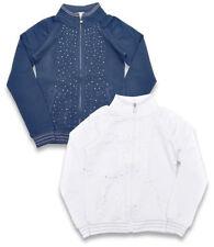Vêtements pull bleu pour fille de 2 à 16 ans