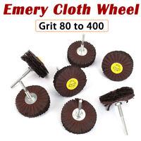 10-20pcs 20-80mm Flap Wheel Disc Sanding Abrasive 60-320 Grit 6mm Shank Drill