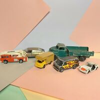 Job Lot of 6 Vintage Diecast Vehicles, Corgi, Budgie, Lone Star, Efsi, Pilen