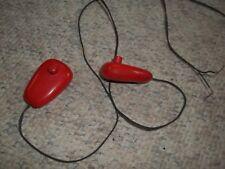 2 Vintage Set Eldon Ungar Slot Car Speed Gun Controller  Red And Case