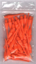 33 NEON ORANGE Dimpled Soft Tip Points: 1.25in. length: For Soft Tip Darters
