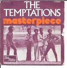 "45 TOURS / 7"" SINGLE--THE TEMPTATIONS--MASTERPIECE / INSTRUMENTAL--1973"