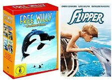Free Willy Box Collection Teil 1-4 (1+2+3+4) + Flipper NEU OVP DVD Set